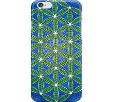 Flower of Life- Ocean Colours iPhone Case/Skin