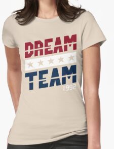 Dream Team Funny Geek Nerd Womens Fitted T-Shirt