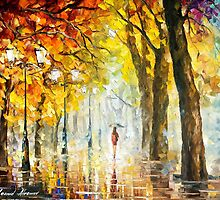 Green Happiness — Buy Now Link - www.etsy.com/listing/217901023 by Leonid  Afremov
