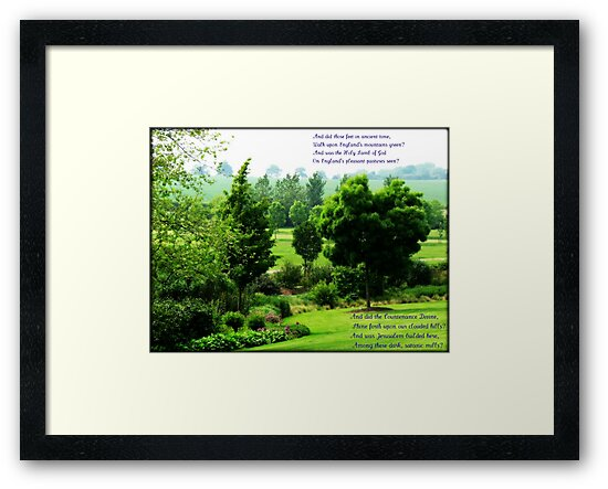 England's Green and Pleasant Land - Ortonish Vignette by BlueMoonRose
