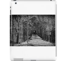 A walk way to insanity iPad Case/Skin