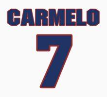 Basketball player Carmelo Anthony jersey 7 by imsport