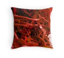 blood and guts by the river Throw Pillow