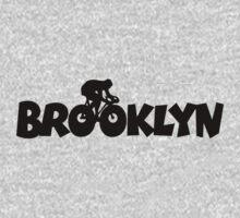 Brooklyn Biking One Piece - Short Sleeve