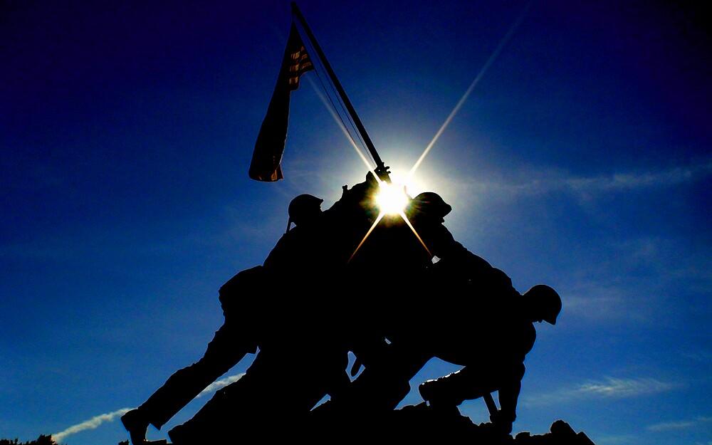 Iwo Jima Memorial by ranaman