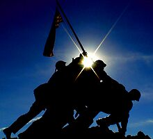 Iwo Jima Memorial by ranaman