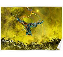 Upward Flight - Toward the Light Poster