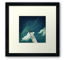 Fountain Pen Framed Print