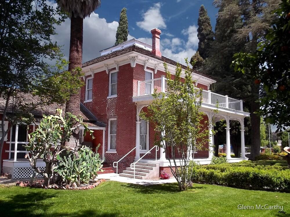Estudillo Mansion- Garden View by Glenn McCarthy