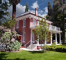Estudillo Mansion- Garden View by Glenn McCarthy