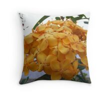 cancun flora Throw Pillow