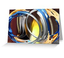 Vortex of Time Greeting Card