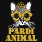 Black and Gold Pardi Animal by StudioBlack