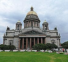 St. Isaac's Cathedral 2 by Trish Meyer