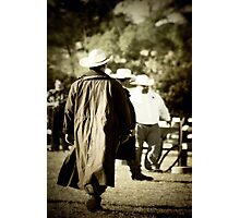 Trenchcoat Cowboy Photographic Print