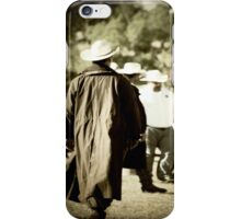 Trenchcoat Cowboy iPhone Case/Skin
