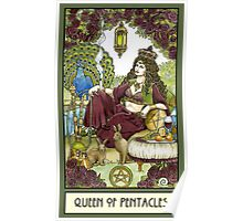 Queen of Pentacles, Card Poster