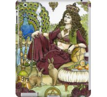 Queen of Pentacles, Card iPad Case/Skin