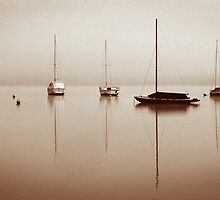 Moorings toned.  by DaveBassett