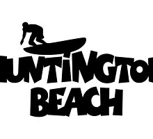 Huntington Beach Surfing by theshirtshops