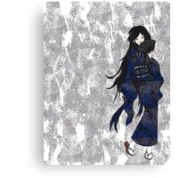 Yukata Girl Canvas Print