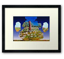 Way outback Framed Print