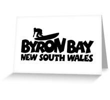 Byron Bay Surfing Greeting Card