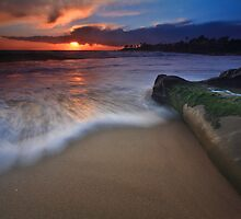 Sunset on laguna beach by Justin Kim