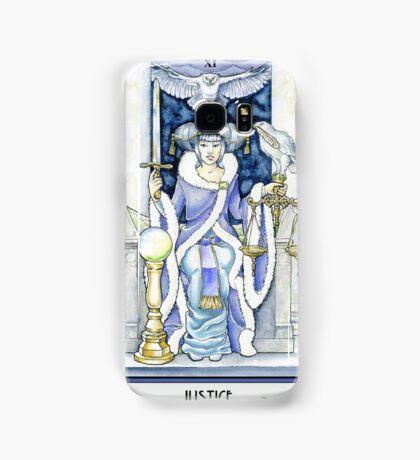 """""""Justice"""" Tarot Card Samsung Galaxy Case/Skin"""