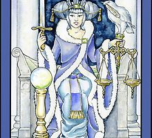 """Justice"" Tarot Card by WinonaCookie"