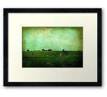 The Green Yonder Framed Print