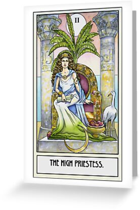 The High Priestess - Card by WinonaCookie