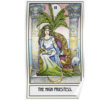 The High Priestess - Card Poster
