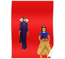 wicked queen and snow white Poster