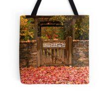Autumn Gateway Tote Bag