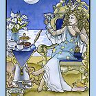 Queen of Cups, Card by WinonaCookie