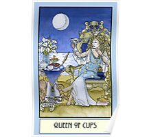 Queen of Cups, Card Poster