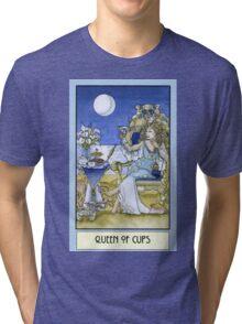 Queen of Cups, Card Tri-blend T-Shirt