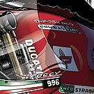 Carl Fogarty - Infostrada Ducati 996 by quigonjim