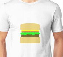 Burger Design Unisex T-Shirt