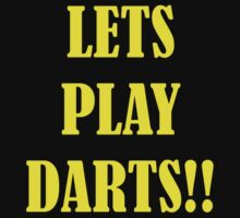 lets play darts by pablotguerrero