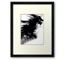 In Dreams Dragons Fly. Framed Print