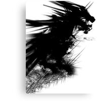 In Dreams Dragons Fly. Canvas Print