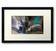 Broadway NY Abstract 3  Framed Print