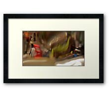 Broadway NYC Abstract  Framed Print