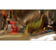 Broadway NYC Abstract  Photographic Print
