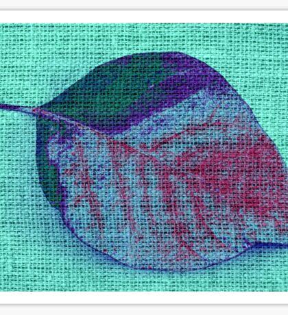 Leaf Fine Art #4 Sticker