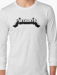 Metadata Long Sleeve T-Shirt