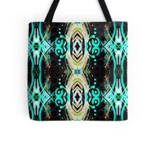 Psychedelic skyview Tote Bag