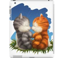For LOVERS. For Beloved. Two kittens in love iPad Case/Skin